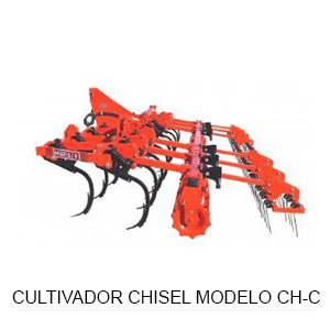 Cultivador chisel modelo CH-C